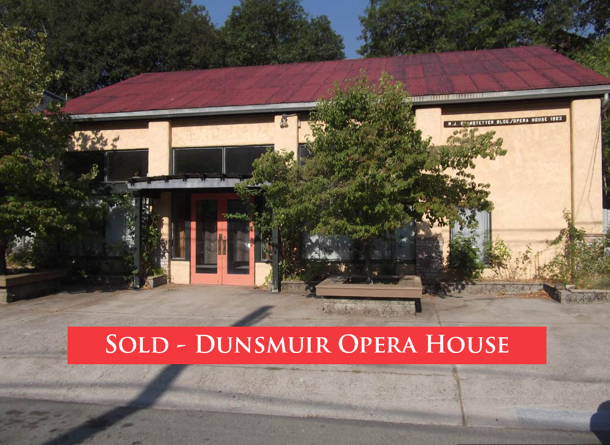 Sold Historic Building Dunsmuir Siskiyou Commercial Real