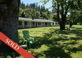 SOLD-California Motels for sale Klamath Rive Resort Inn