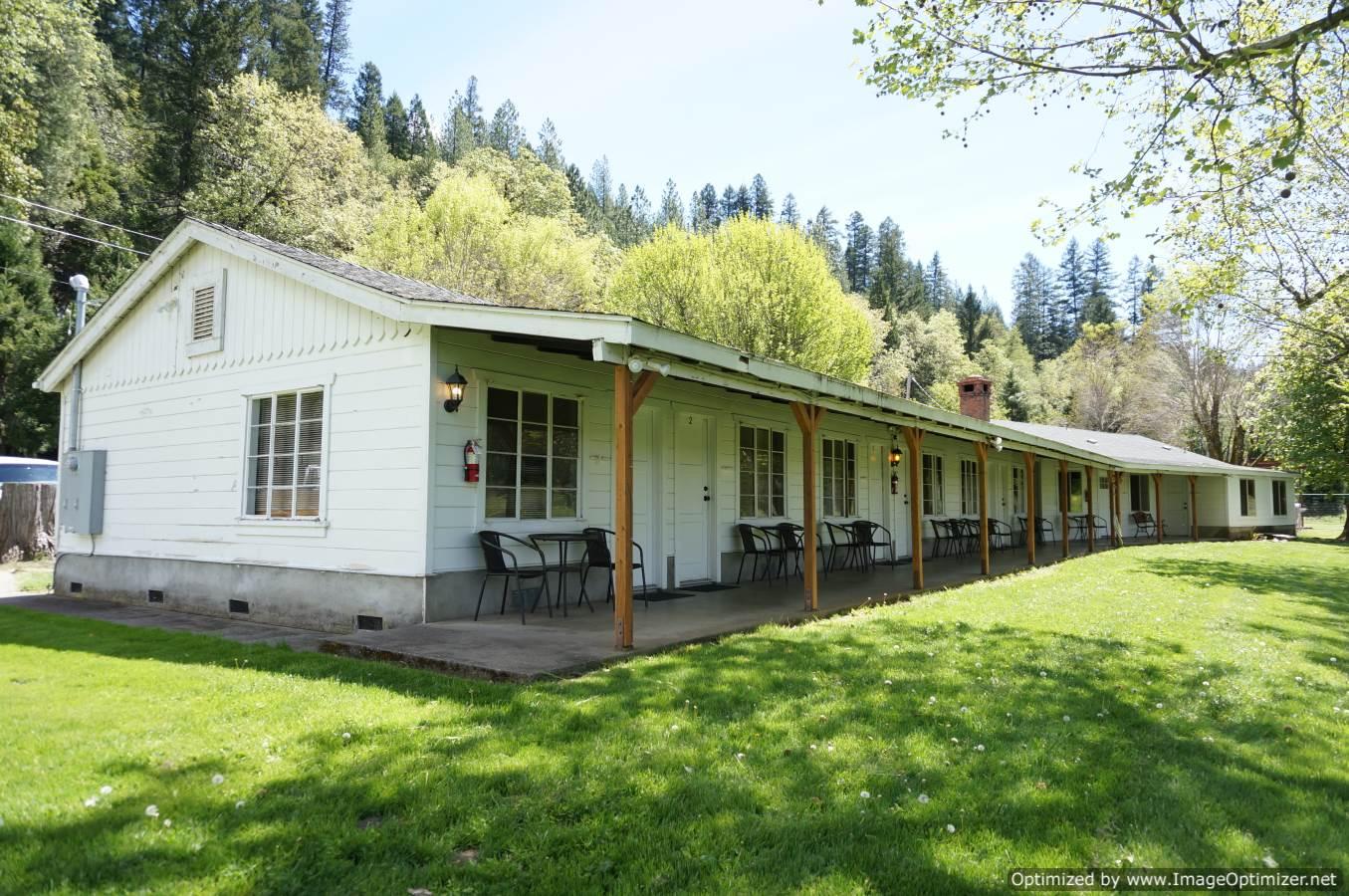Northern California Riverfront motels for sale Klamath River